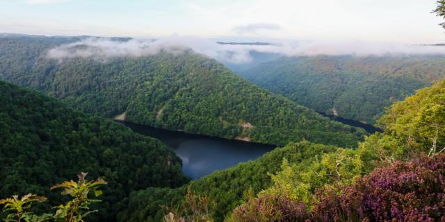 Point de vue de Roc Grand- Gorges de la Dordogne-Saint Merd De Lapleau