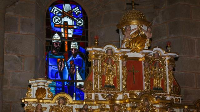 Intérieur de l'église de Rosier d'Egletons