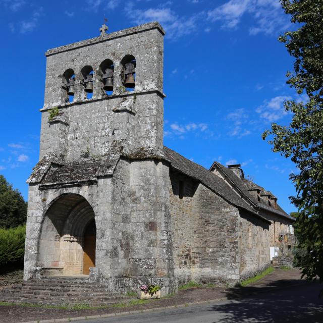 Eglise de St Merd de Lapleau