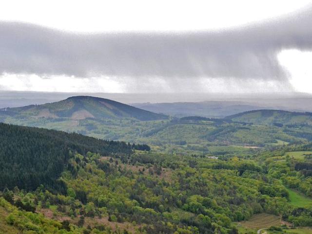 Le Sud des Monédières vers Chaumeil