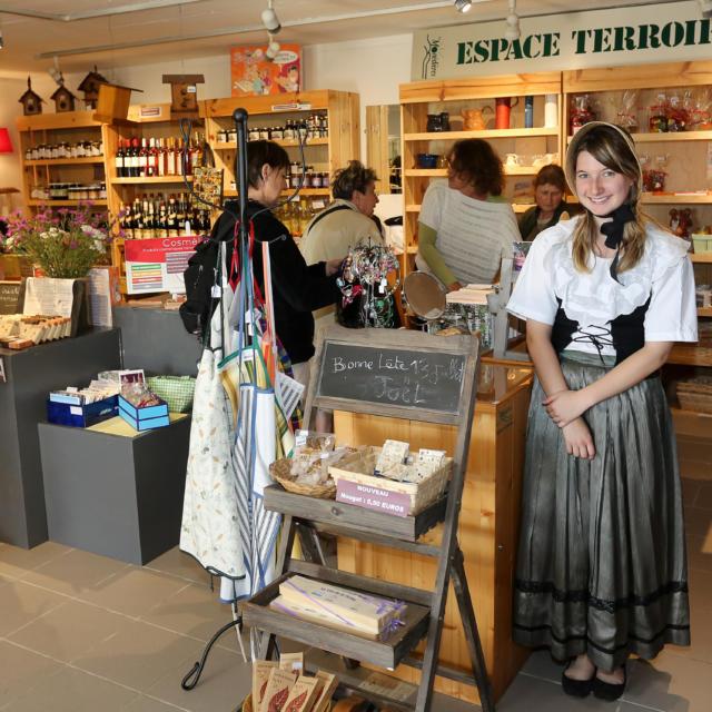 Maison de Pays des Monédières - Espace Boutique - Chaumeil
