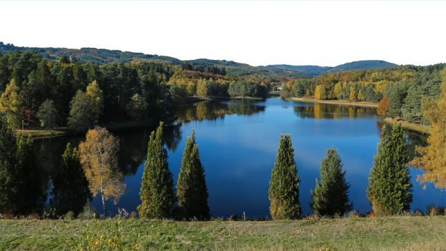 Le lac du Deiro - Egletons