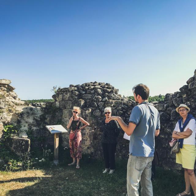 Visite guidée au château de Ventadour