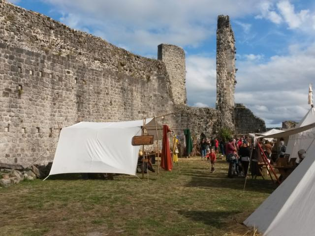Camp Médiéval - Château de Ventadour