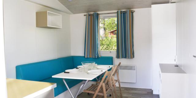 Intérieur chalet tout confort- Camping Marcillac-la-Croisille