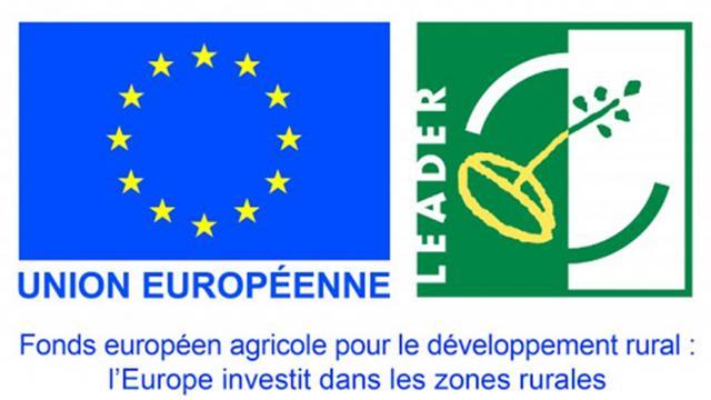 Logo Union Européenne et LEADER