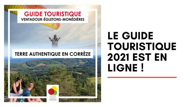 le guide touristique 2021 est en ligne !
