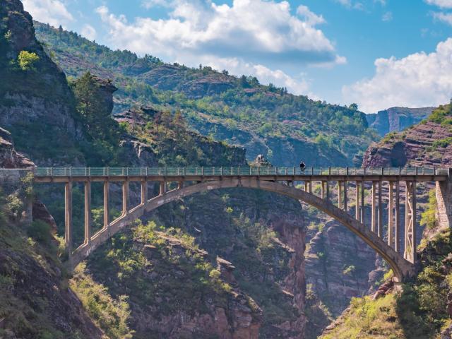 Gorges de Daluis, Pont de la Mariée