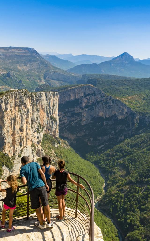 Belvédère de la dent d'Aire, Route des Crètes, Gorges du Verdon