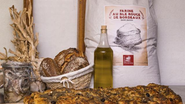 Produits locaux du Verdon, fougasse à l'anchois