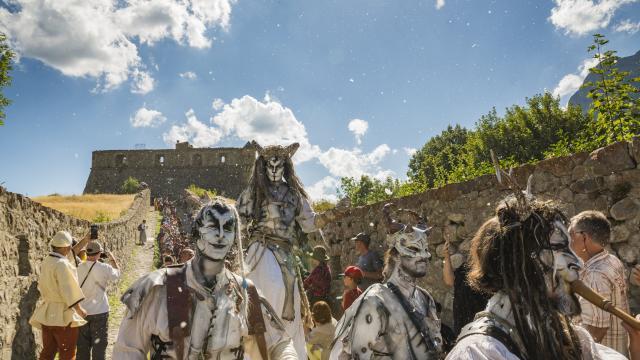 Fêtes médiévales, Colmars-les-Alpes