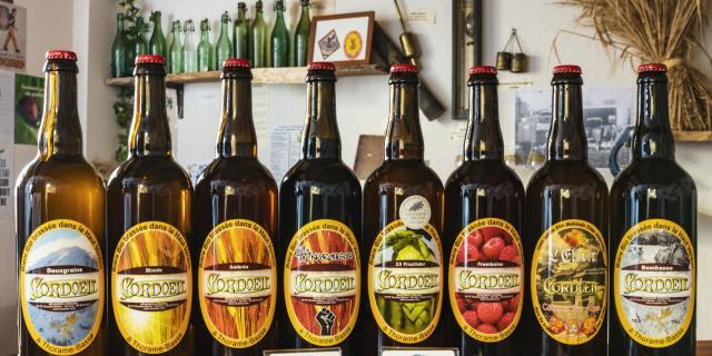 Bière artisanale Cordoeil, Thorame-Basse, Alpes de Haute Provence