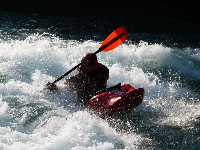 Kayak dans le Verdon