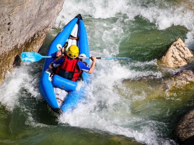 Canoë-Kayak dans le Verdon