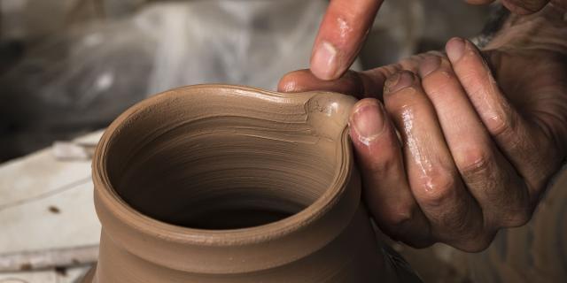 Poterie, artisanat local du Verdon