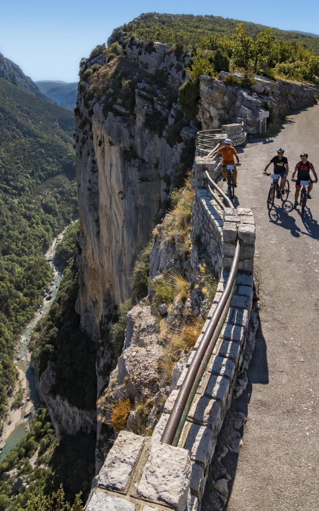 Le grand canyon en vélo