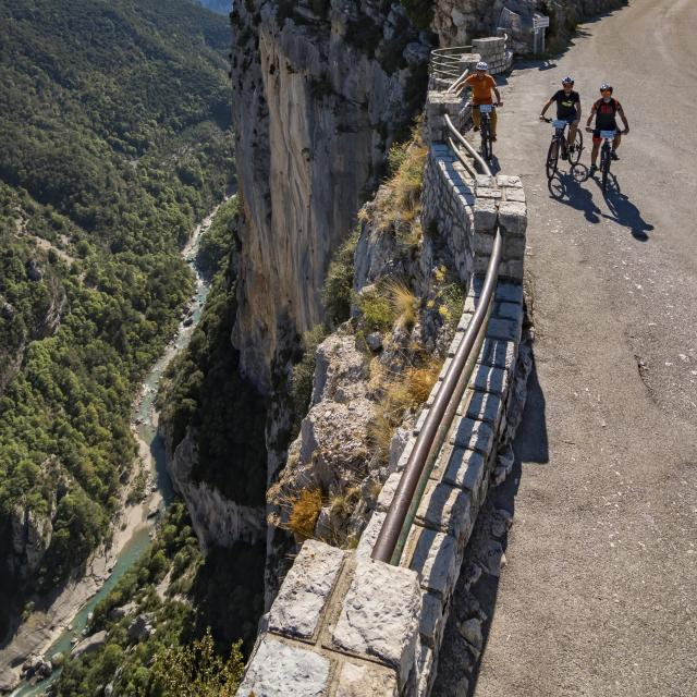 Le grand canyon en vélo