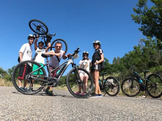 Route des crêtes en vélo électrique Pour Vt (4) Min