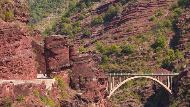 Pont de la mariée Gorges de Daluis