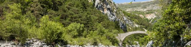 Pont de Tusset Gorges du Verdon