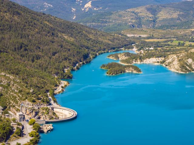 Demandolx barrage Lac Chaudanne