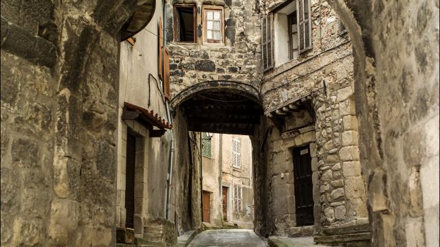 Ruelles médiévales d'Annot