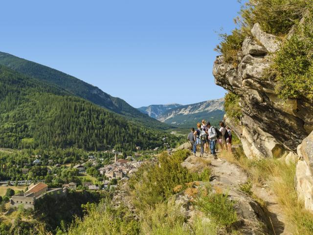 Sentier de L'ardroit Colmars-les-Alpes
