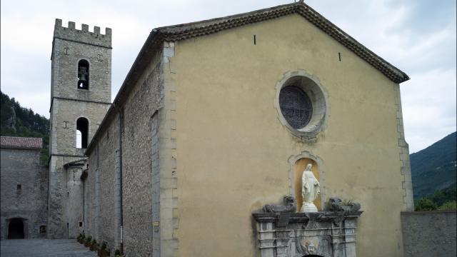 Cathédrale d'Entrevaux
