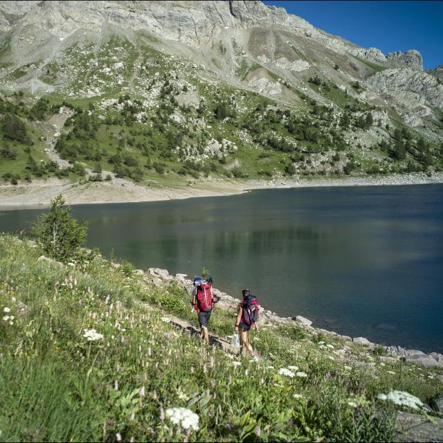 Lac d'Allos 2220 m