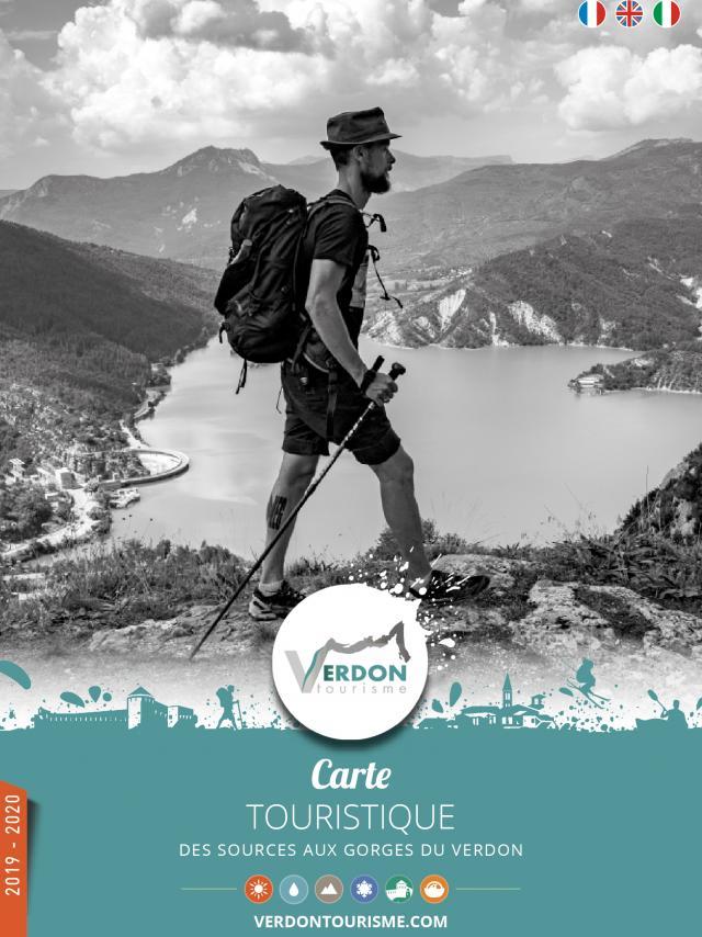 Carte Touristique Couv