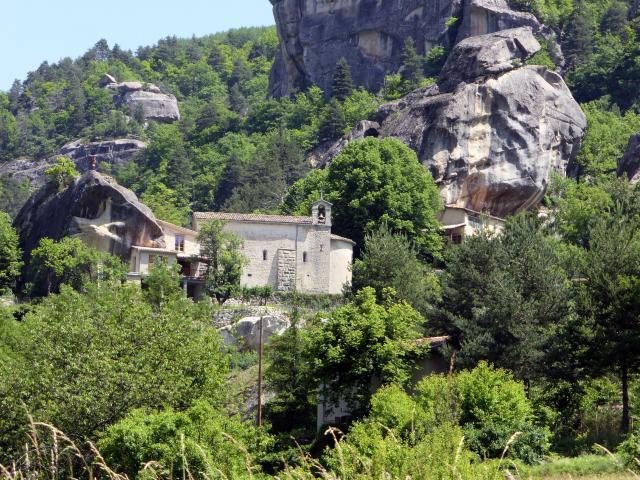 Chapelle De Vers La Ville Annot (c)jf Office De Tourisme Annot