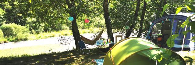 Camping prés du Verdon