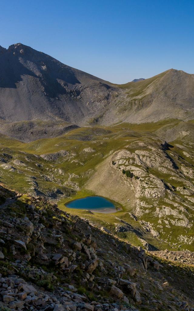 Lac de l'encombrette 2336 m