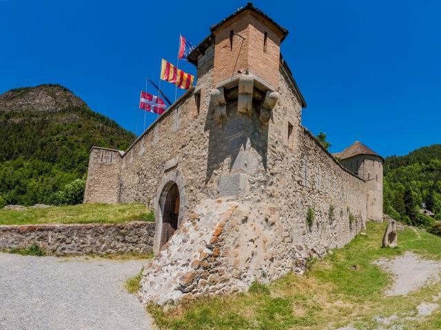 Colmars-les-Alpes, vue depuis le fort de savoie