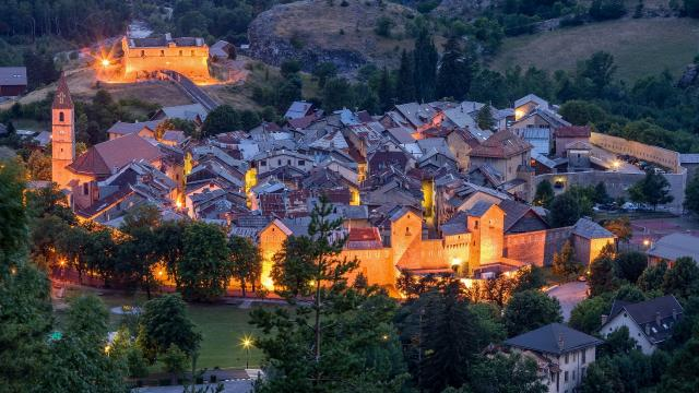 Village de Colmars-les-Alpes