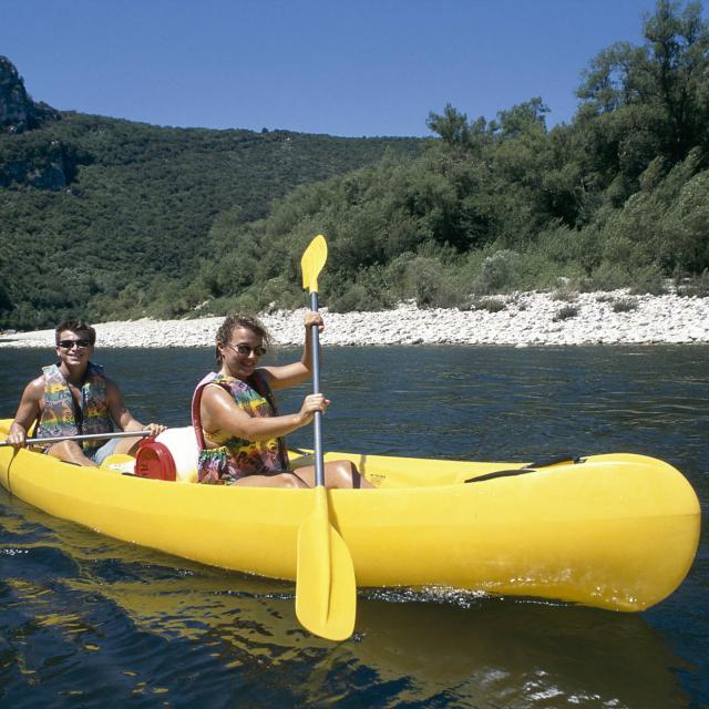 Canoe Ardeche 01
