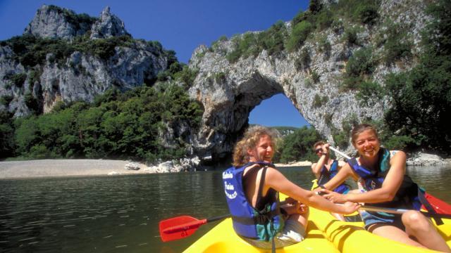 Canoe Pont Arc Gorges Ardeche