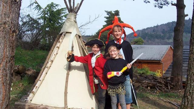 Activités enfants Volcans Vacances Aydat