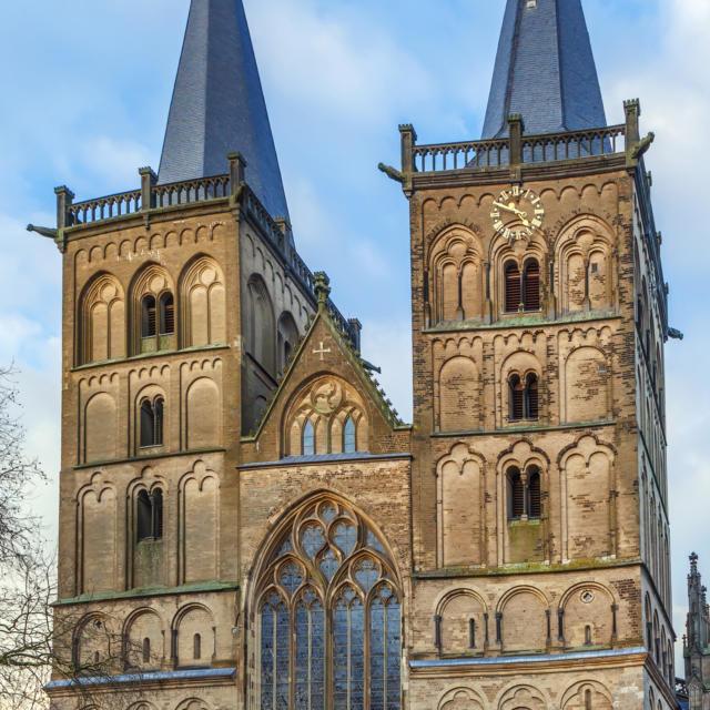 Ville jumelle - Xanten, Allemagne - Cathédrale Xanten