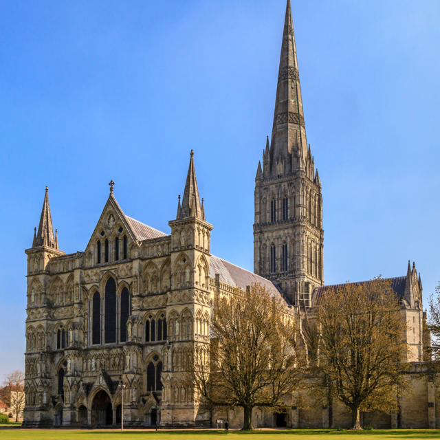 Ville jumelle - Salisbury Royaume-Uni - Cathedrale de Salisbury