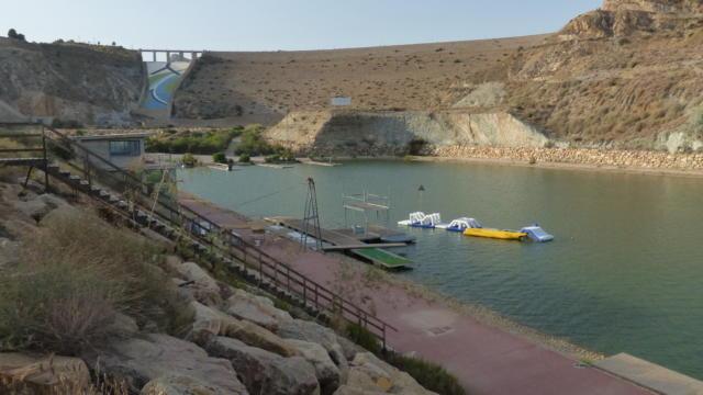 Ville jumelle - Cuevas del Almanzora plan d'eau, Espagne