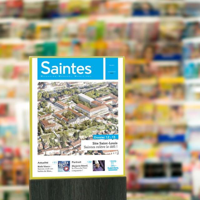 Le kiosque magazines de la ville