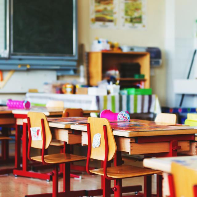 Les écoles primaires salle de classe