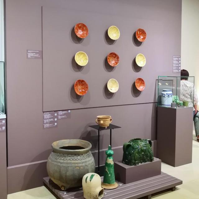 Musée de l'Echevinage céramique