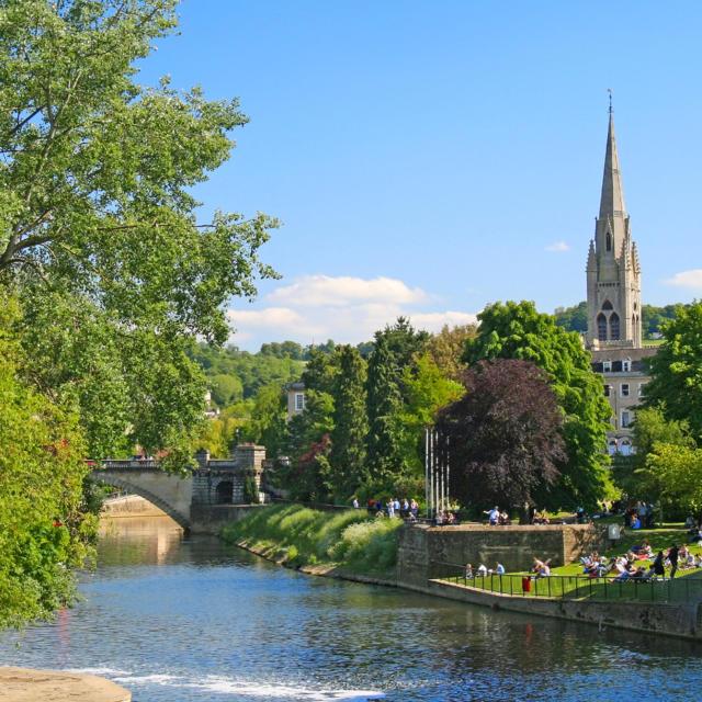 Ville jumelle - Salisbury Royaume-Uni - Scène pastorale