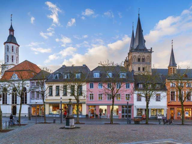 Ville jumelle - Xanten, Allemagne - ville