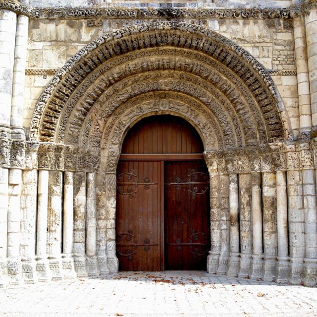 Abbaye-aux-dames Porte