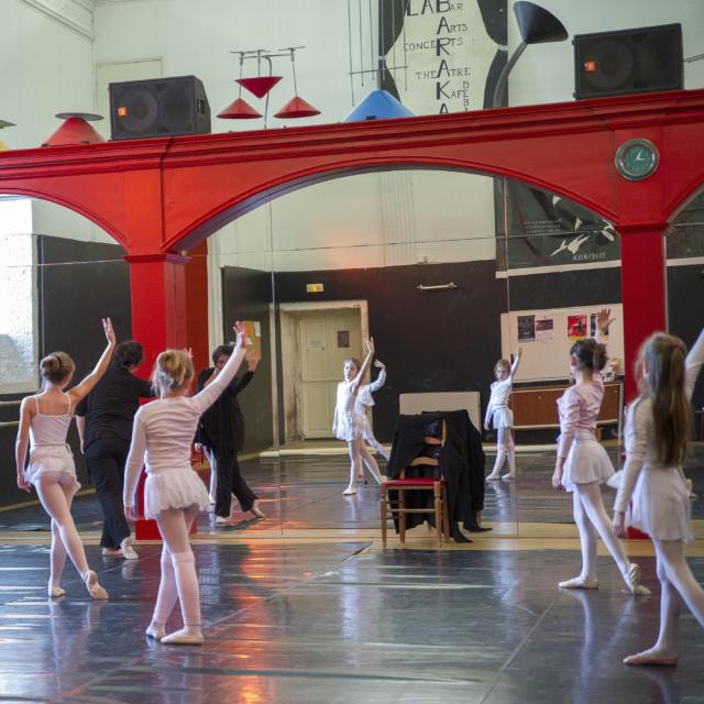 Espace Chavagne Danseuse