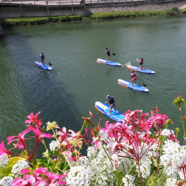 Paddle sur la Charente à Saintes