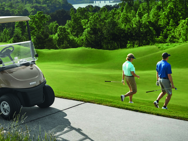 Voiturette golf expo
